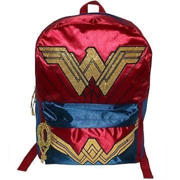 DC Comics Bags   New Wonder Woman Backpack   Poshmark a158a095ac
